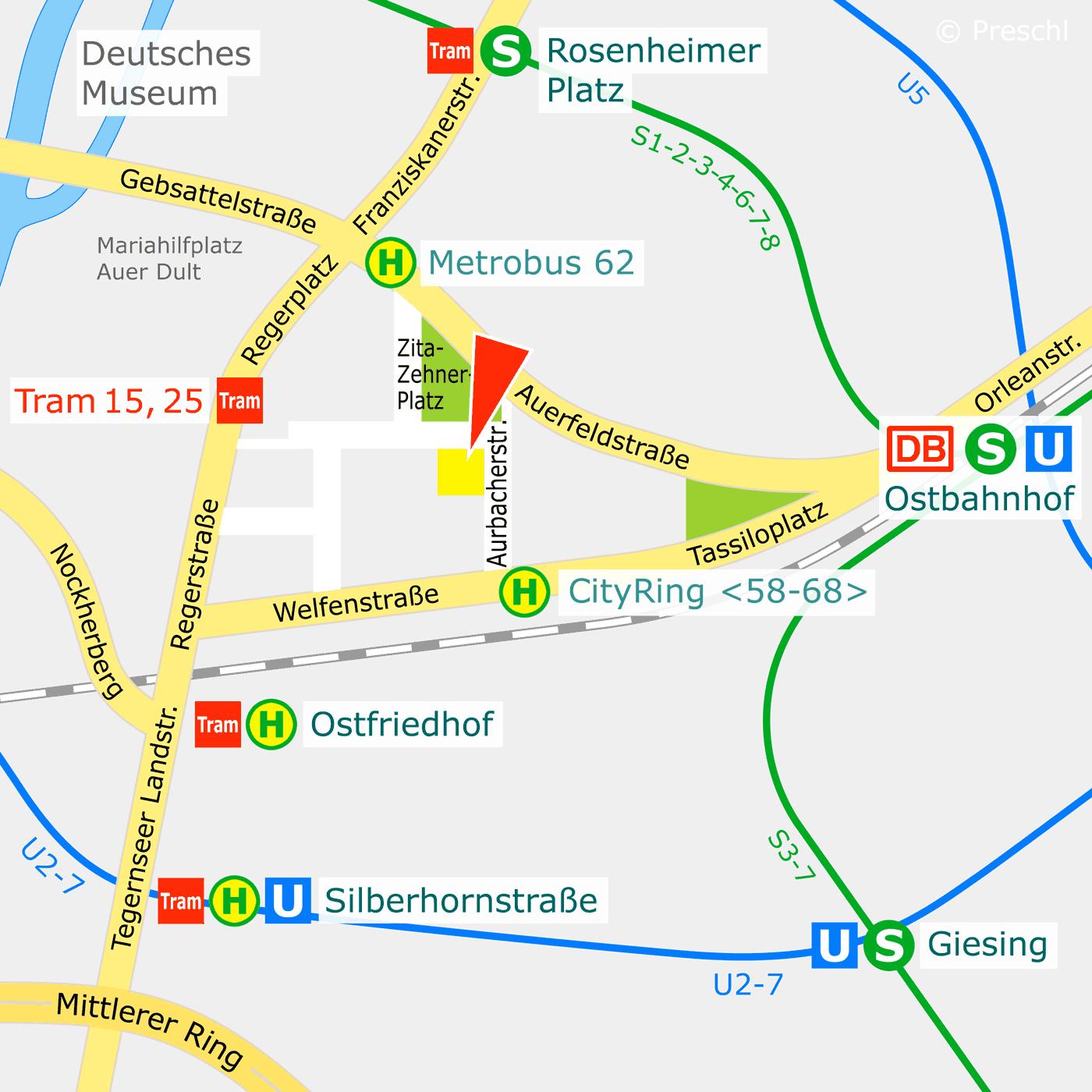 Anfahrt/Lageplan