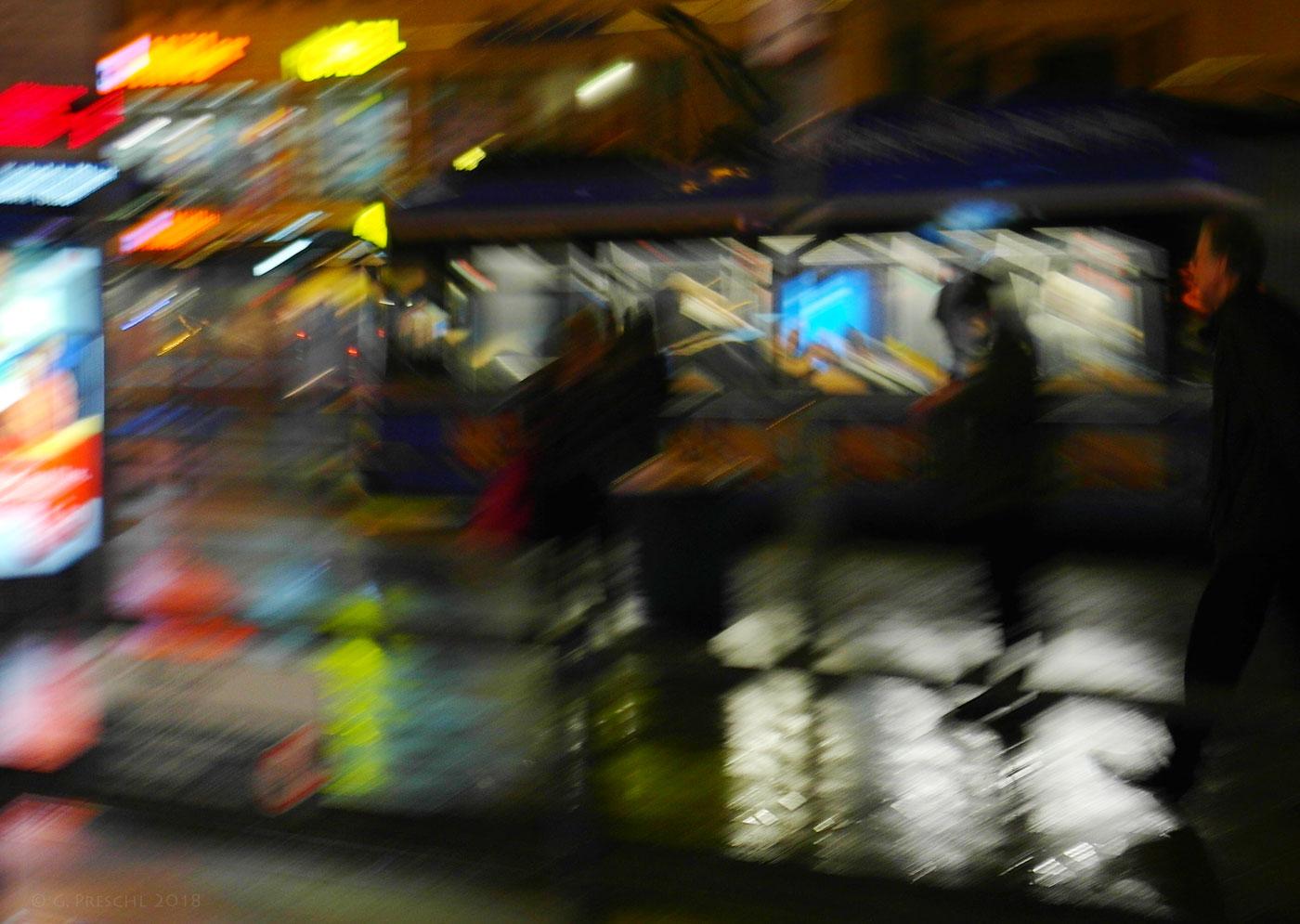 Stachus bei Nacht