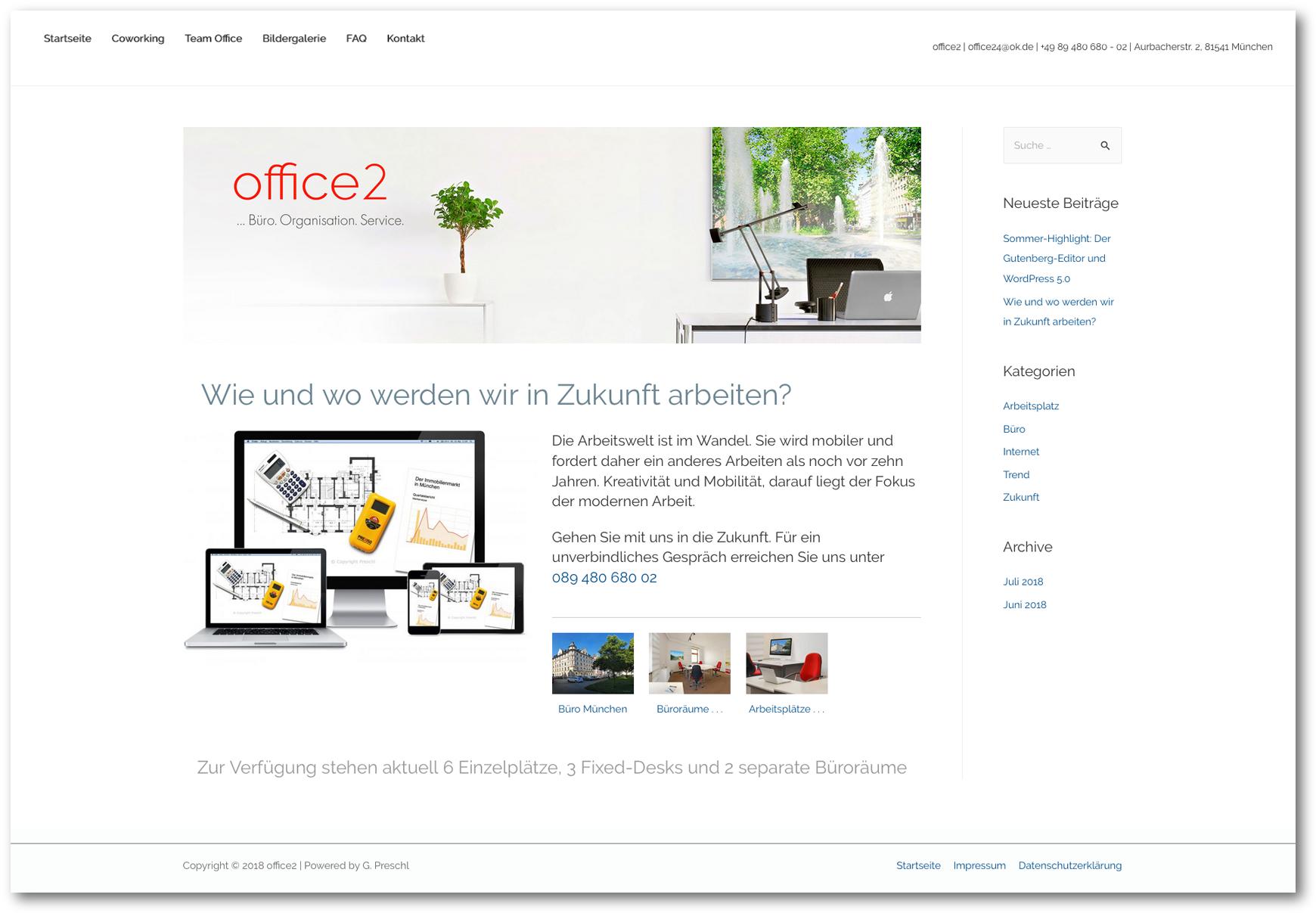 office2 - Büro. Organisation. Service.