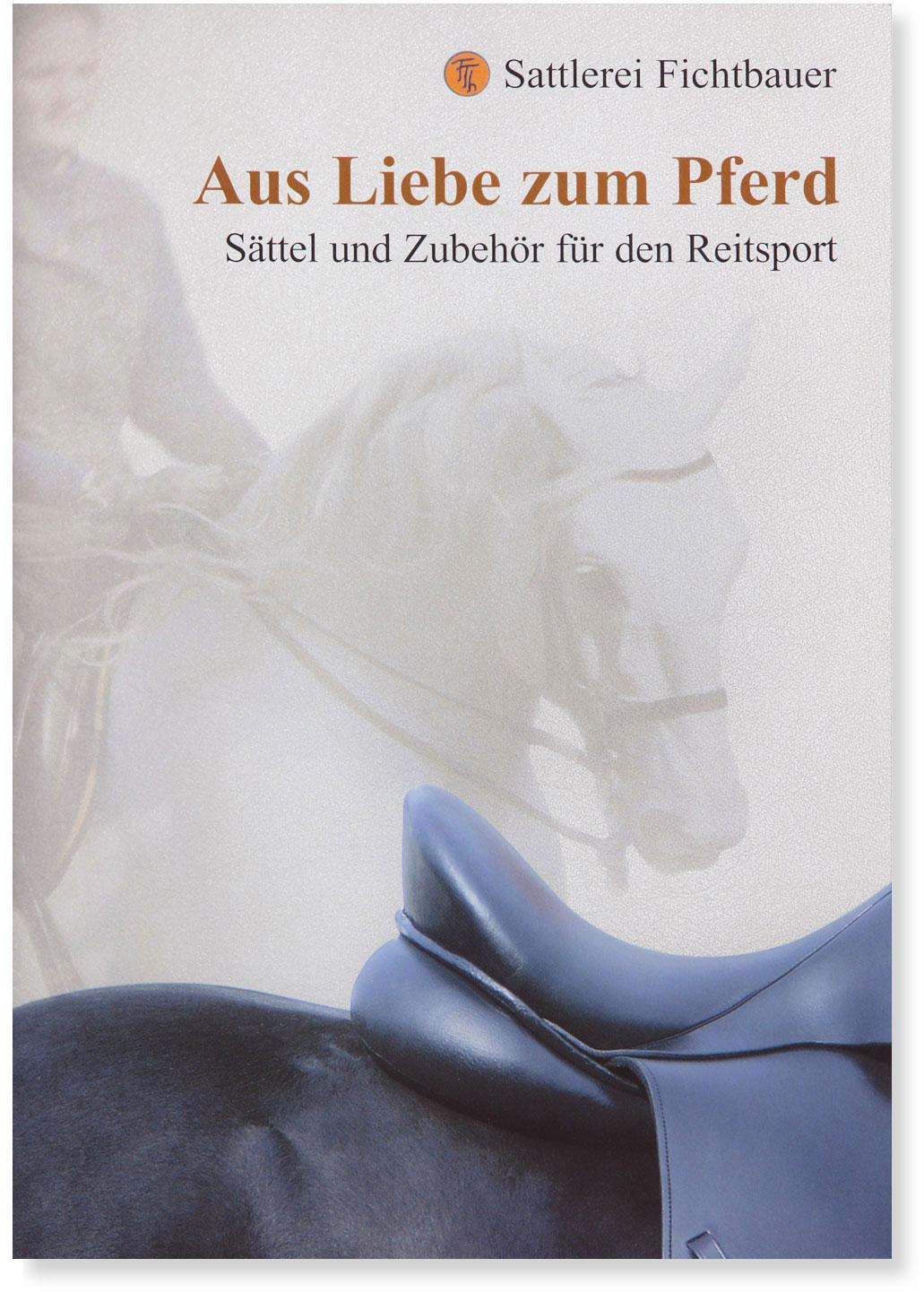 Sattlerei Fichtbauer Prospekt Titelseite