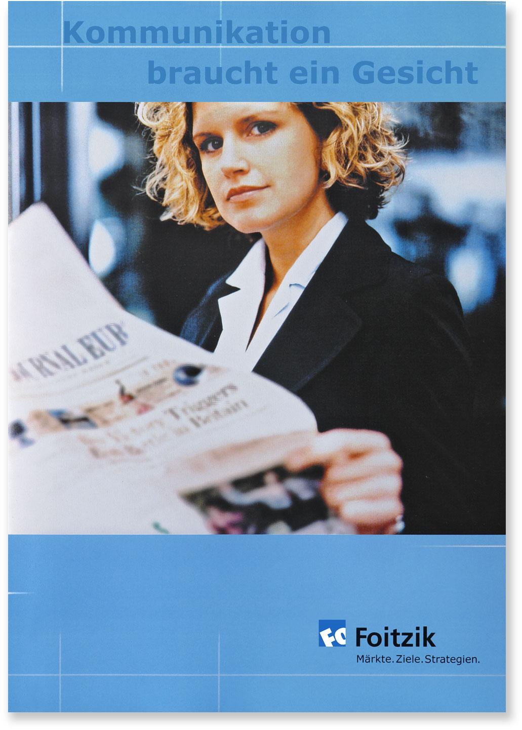 Titelseite Kommunikation braucht ein Gesicht
