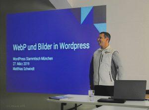 Vortrag zu Bildformat WebP